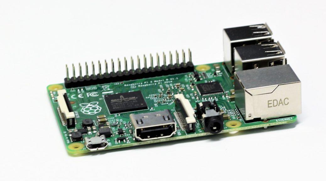 Ein Raspberry Pi 2 Modell B