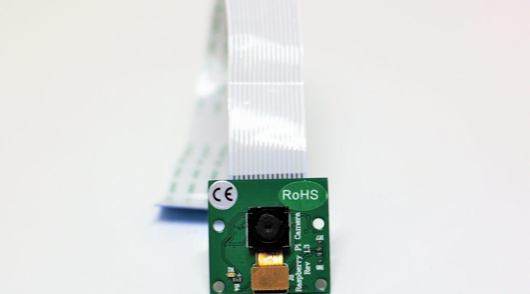 Kamera des Raspberry Pi in der Revision 1.3