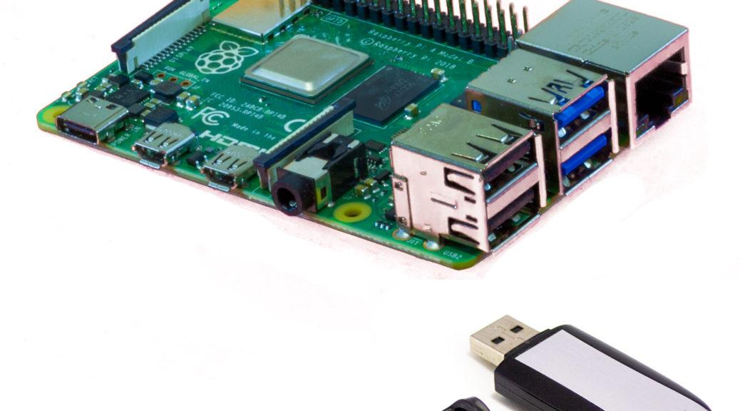 Raspberry Pi 4 von USB-Stick oder SSD booten
