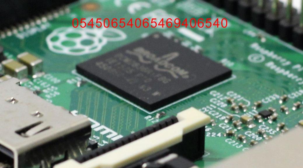 Seriennummer auf dem Raspberry Pi